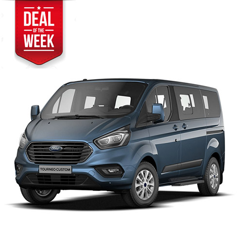 TOP DEAL DER WOCHE! Ford Transit Tourneo Custom 9-Personen-Van
