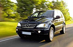Luxus Mercedes ML VERMIETEN